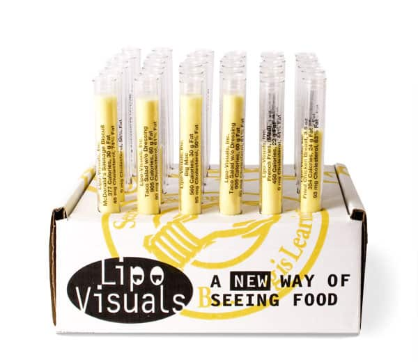 Lipo-Visuals Deluxe Teaching Kit - 36 tubes