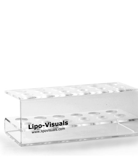 Lipo-Visuals 12 Hole Acrylic Rack
